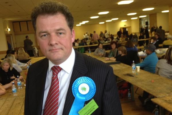 Hertfordshire Police Crime Commissioner David Lloyd