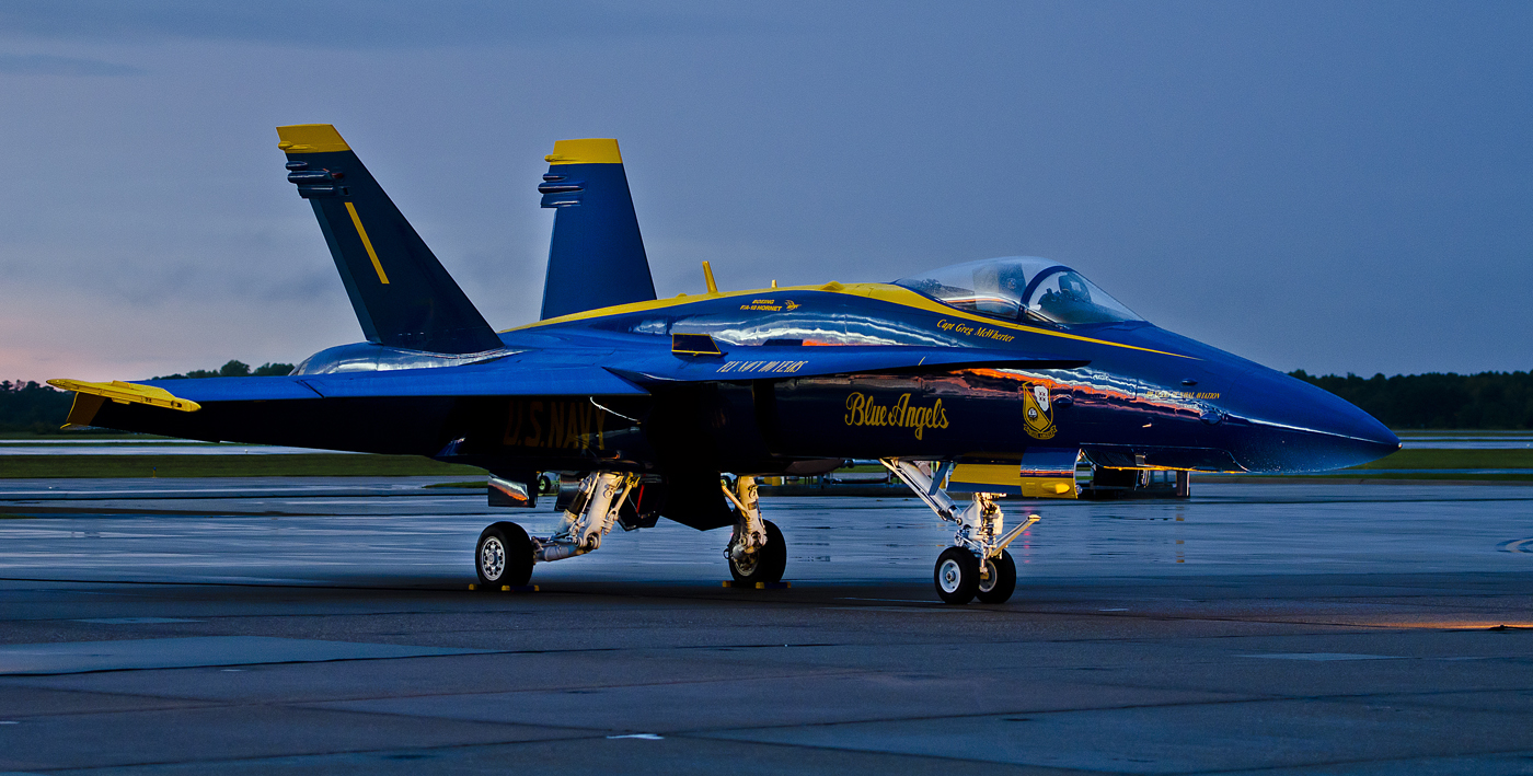 USAF United States Air Force BLUE ANGELS F-18 HORNET ...